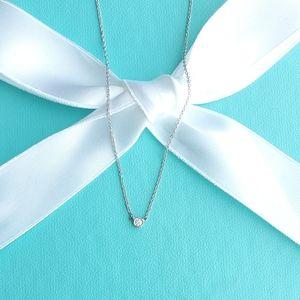 New .05 Platinum diamond necklace